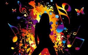 Colorful-Vector-music-girl-dancing_1920x1200